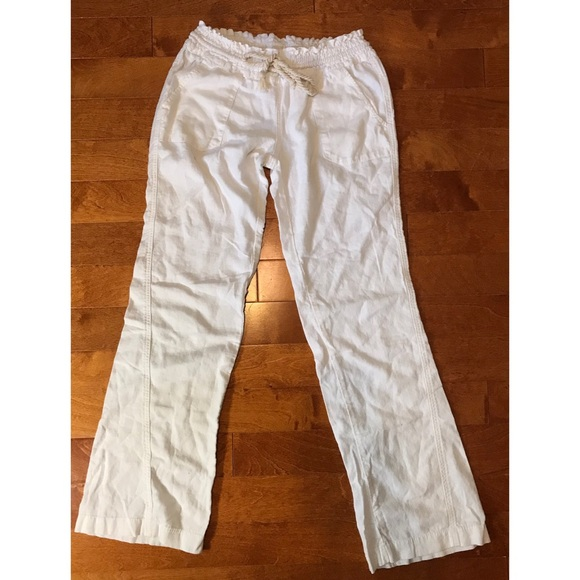 36edcbe30c Linen pants. White pants. M_5c7820069539f79915f8a2fe